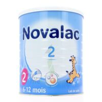 Novalac 2 Lait En Poudre 2ème âge B/800g* à ARGENTEUIL