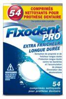 Fixodent Pro Comprimés Nettoyant Fraîcheur Longue Durée Pour Prothèse Dentaire B/54 à ARGENTEUIL