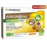 Arkoroyal Immunité Fort Solution Buvable 20 Ampoules/10ml à ARGENTEUIL