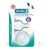 Dodie Sensation+ Tétine Plate Débit 2 Silicone 0-6mois à ARGENTEUIL