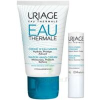 Uriage Eau Thermale Crème D'eau Mains T/30ml+stick Lèvres à ARGENTEUIL