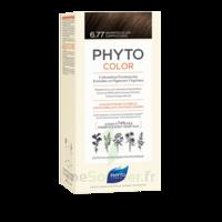 Phytocolor Kit Coloration Permanente 6.77 Marron Clair Cappuccino à ARGENTEUIL