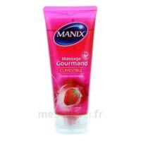 Manix Gel Comestible De Massage Fraise 200ml à ARGENTEUIL