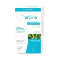 Netline Crème Visage/corps Décolorante Peau Sensible 30+30ml à ARGENTEUIL