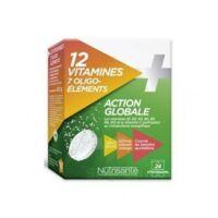 Nutrisanté 12 Vitamines+7 Oligo-éléments Comprimés Effervescents 2*t/12 à ARGENTEUIL