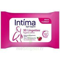 Intima Gyn'expert Lingettes Cranberry Paquet/30 à ARGENTEUIL