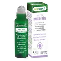 Olioseptil Huile Essentielle Maux De Tête Roll-on/5ml à ARGENTEUIL