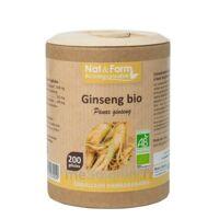 Nat&form Eco Responsable Ginseng Rouge Bio Gélules B/200 à ARGENTEUIL