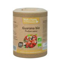 Nat&form Eco Responsable Guarana Bio Gélules B/200 à ARGENTEUIL