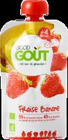 Good Goût Alimentation Infantile Fraise Banane Gourde/120g à ARGENTEUIL