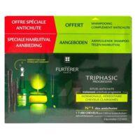 René Furterer Triphasic Progressive Sérum Antichute Coffret 8 Flacons X 5,5ml + Shampoing Stimulant 100 Ml à ARGENTEUIL